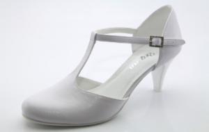 April fehér menyasszonyi cipő