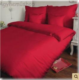 piros pamutszatén
